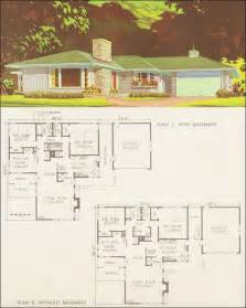 Mid Century Floor Plans by Mid Century Modern Ranch Floor Plan Mid Century Ranch