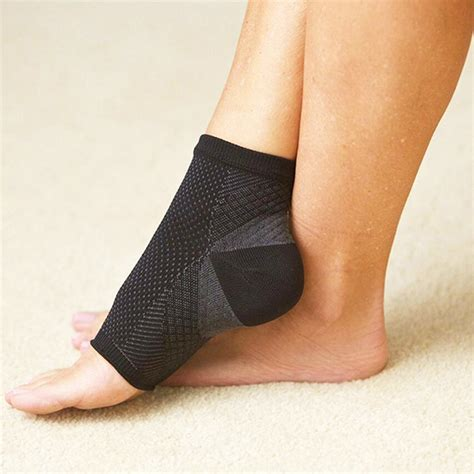 Comfort Foot Anti Fatigue Compression Sleeve Elastic S Socks mens sport anti fatigue circulation ankle swelling relief compression foot sleeve