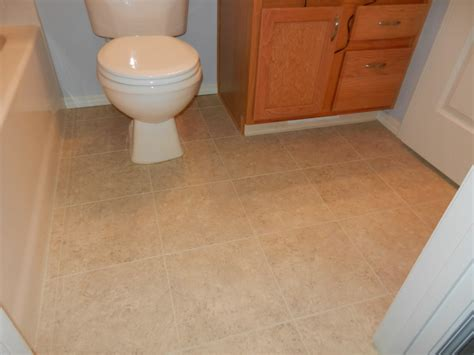 installing floor tiles in bathroom install linoleum flooring bathroom gurus floor