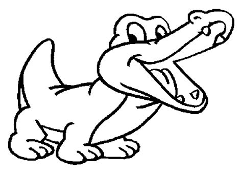 baby crocodile coloring pages coloring pages