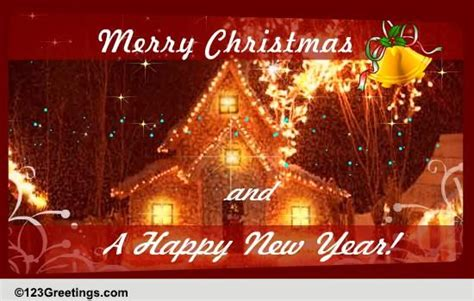merry christmas  happy  year  holiday   ecards