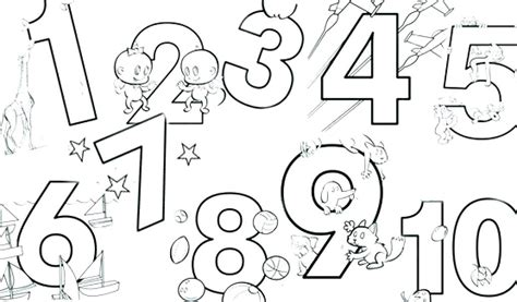 numbers coloring pages 1 10 pdf number 10 coloring pages number coloring page numbers 1 10