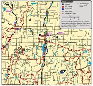 Gaylord Michigan Map by Maps Of Parks Trails Attractions Amp More In Gaylord Area