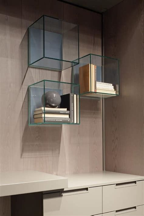 Box Wall Shelving Units Original Shelves In Wood And For Living Rooms