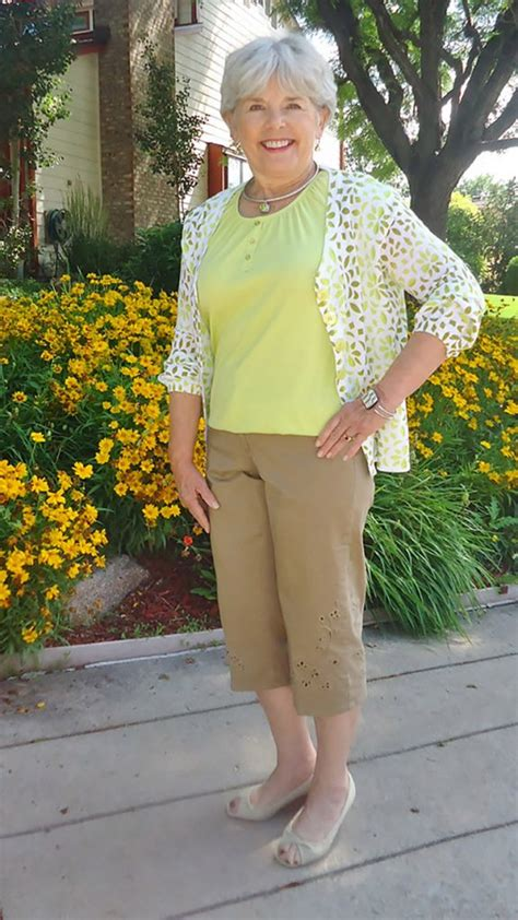 florida fashion for mature women fashion for older women capri pants for the summer months