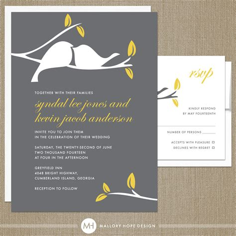 modern wedding invitations 9 weddings eve