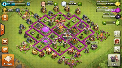 Coc Town Hall 7 | best clash of clans town hall 7 hybrid base layouts