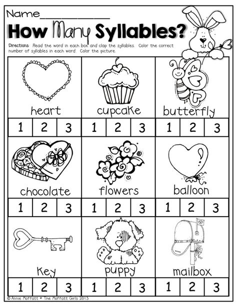 february no prep packet kindergarten worksheets