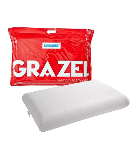 Price Of Pillow by Kurlon White Grazel Pillows Set Of 2 Available At Snapdeal
