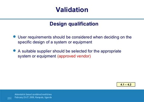 design qualification guidelines 1 5 equipment qualification