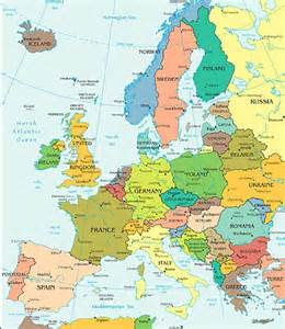 map showing us and europe map of europe