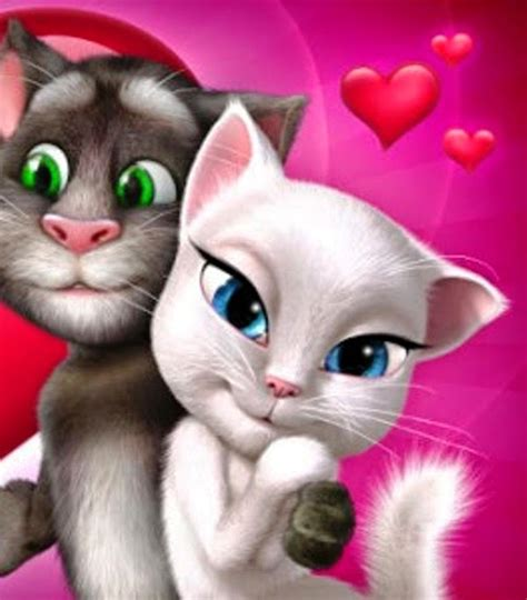 wallpaper talking cat talking tom and angela wallpapers www imgkid com the