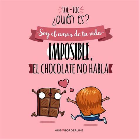 imagenes emotivas chistosas m 225 s de 25 ideas incre 237 bles sobre frases de chocolate en