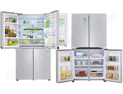 frigo 4 porte sharp refrigerateur 4 portes sharp sjf790stsl