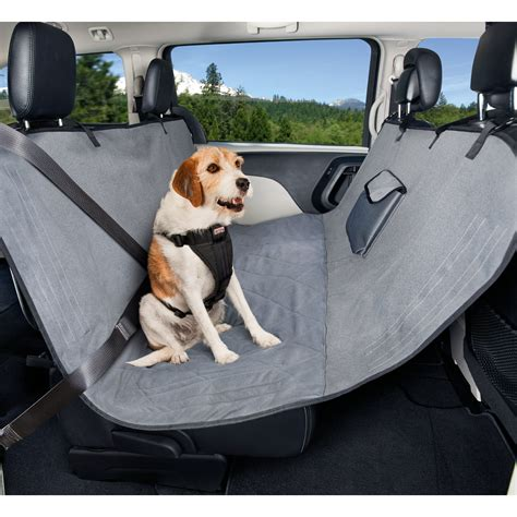 puppy car seats good2go no fur zone hammock car seat cover petco