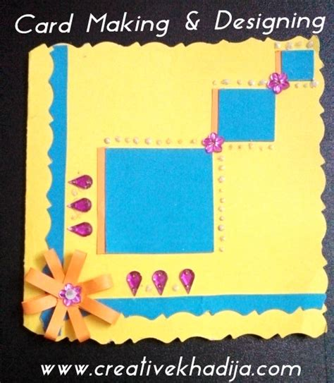 how to make a card for a card ideas for eid greetings creativecollections