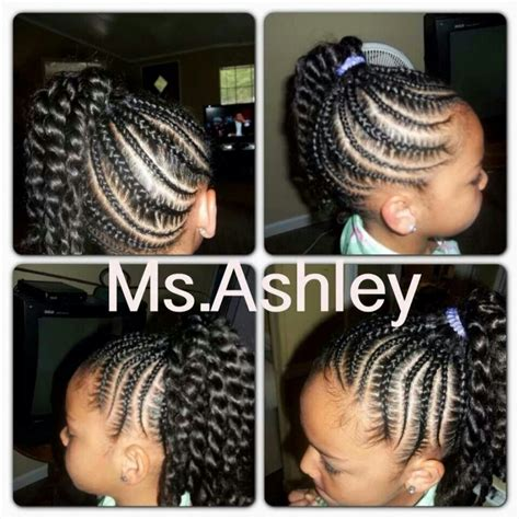 braid styles for african american women that wont stress edges pictures braided ponytail hairstyles for black girls