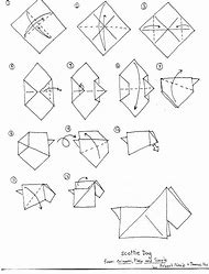 Best 25 Ideas About Origami Dog Instructions