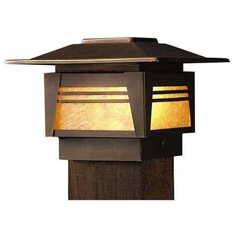 Kichler Low Voltage Post Deck Light 15071oz Kichler Deck Lighting
