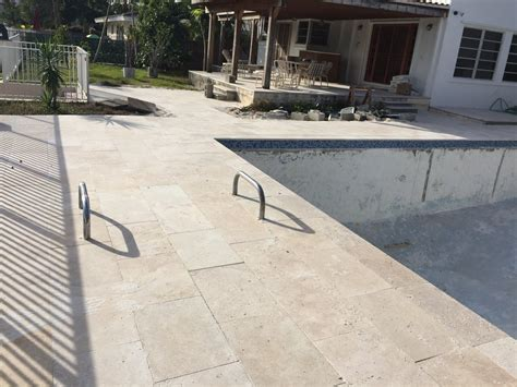 thin pavers  pool deck  hull truth boating