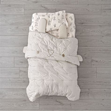 land of nod toddler bedding bunny bedding bedding sets collections