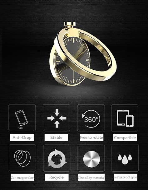 Ring Stand Hp Handphone Iring Holder Metal Mirror Logo Smartphone iring metal fleksibel holder smartphone unik bisa diputar mudah diletakkan di holder magnet