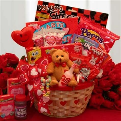gift baskets for valentines my childrens gift basket