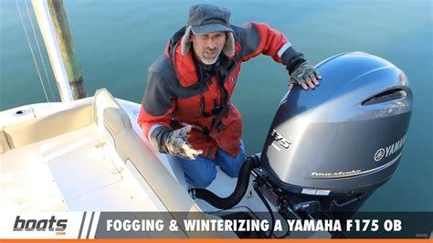 winterizing yamaha boat motors how to winterize a yamaha outboard motor caferacersjpg