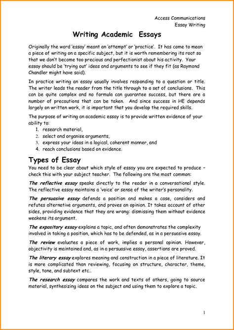 How To Write A Academic Essay by 10 Academic Writing Application Quote Templates