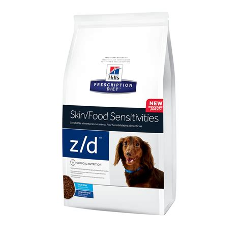 z d food hill s prescription diet z d skin food sensitivities small bites original food