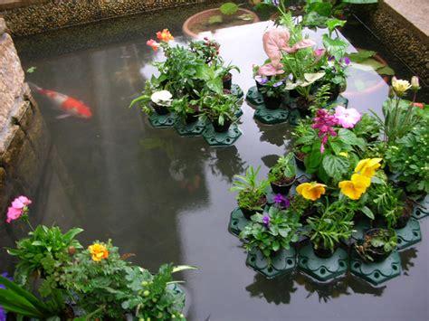 Floating Planters For Ponds by Aquaponics Floating Pond Planter Basket Kit Hydroponic