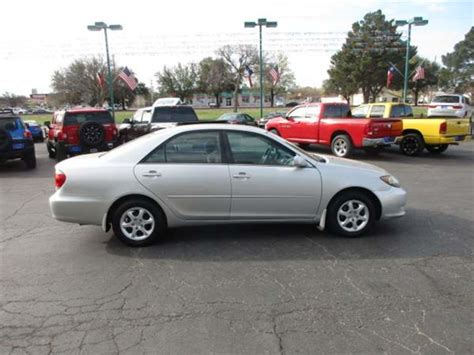 abilene used car sales 2005 toyota camry le abilene tx abilene used car sales