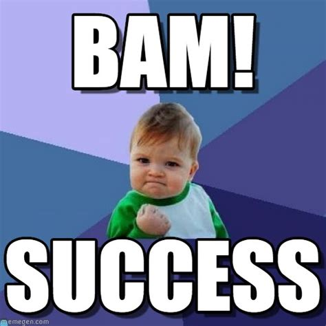 Success Meme Baby - what to love about your business competitors