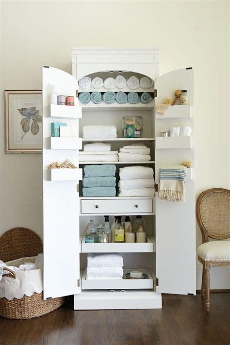 freestanding cabinet  craft linen storage linen spray floor space  storage cabinets