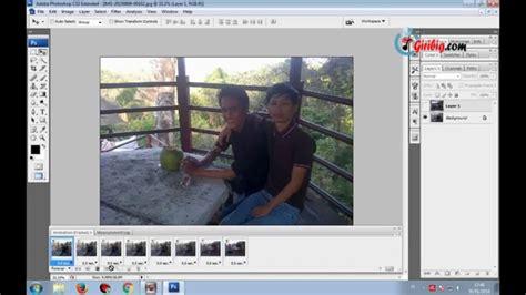 membuat gambar bergerak di photoshop membuat gambar animasi bergerak dengan photoshop gif