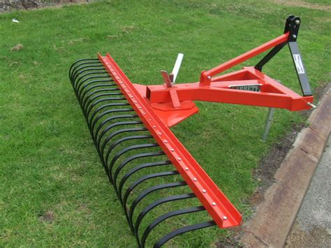 landscape rake 8ft wa machinery brokers pty ltd