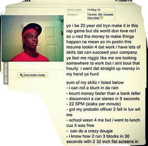 Resume 9gag by Honest S Resume 9gag