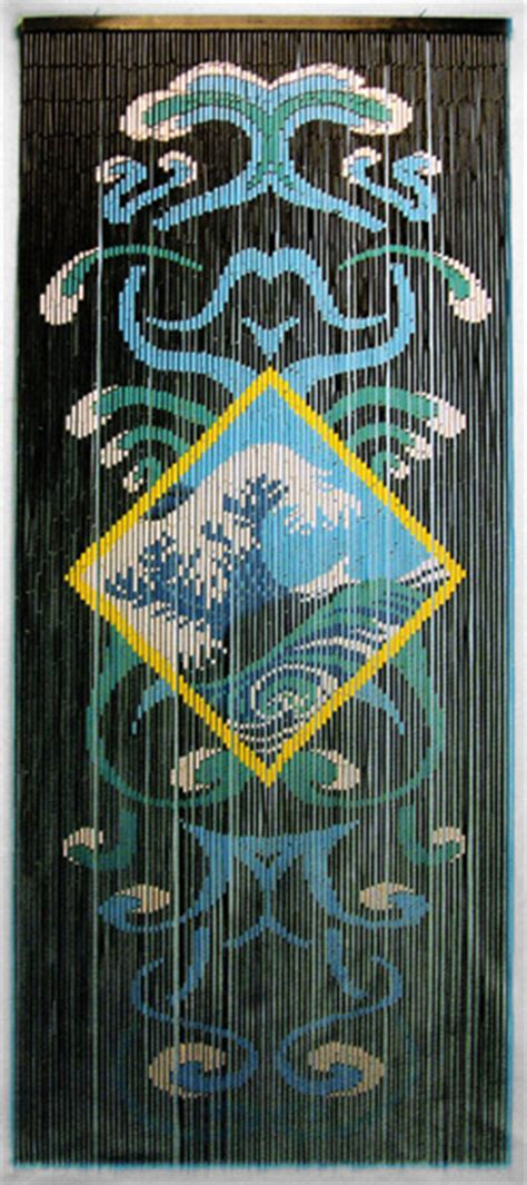 bob marley curtains bamboo doorway beads curtain with ocean motif