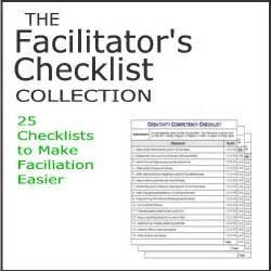 the facilitator s checklist collection
