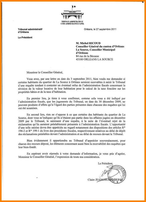 Exemple De Lettre Administrative Word 4 Lettre Administrative Exemple Cv Vendeuse