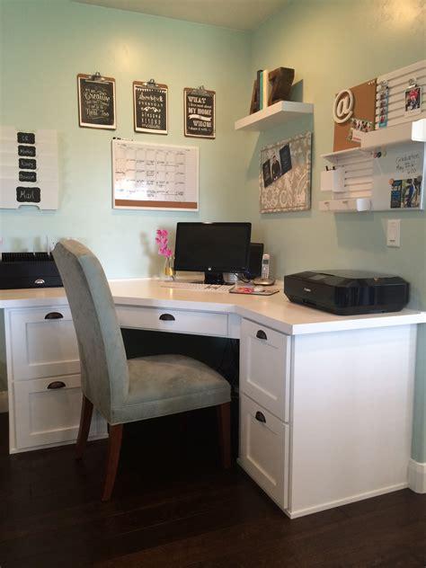 How To Create A Family Command Center Aqua Lane Design Corner Kitchen Desk