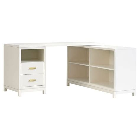 Corner Desk With Drawers Rowan Drawer Corner Desk Pbteen