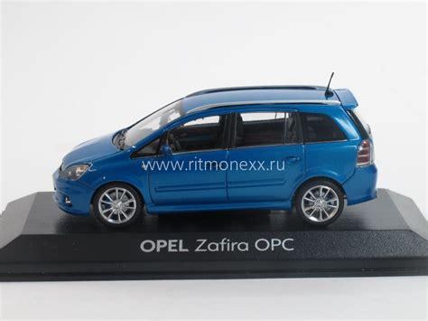 масштабная модель Opel Zafira Opc Blue Opel