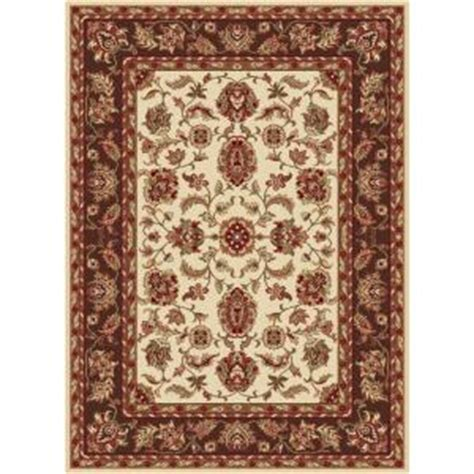 lowes rugs 5x8 tayse rugs sensation beige 8 ft 9 in x 12 ft 3 in transitional area rug 4802 ivory 9x12