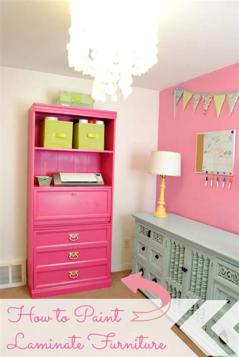 best paint for laminate dresser how to paint laminate furniture
