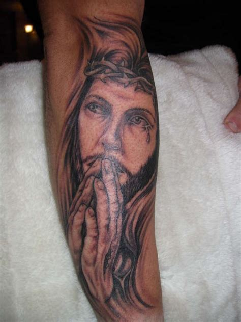 tattoo jesus forearm jesus tattoos and designs page 80