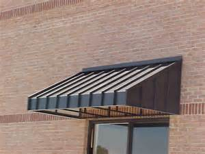Metal Roof Awnings Spurlin Signs Sherwin Williams Standing Seam Metal Awning