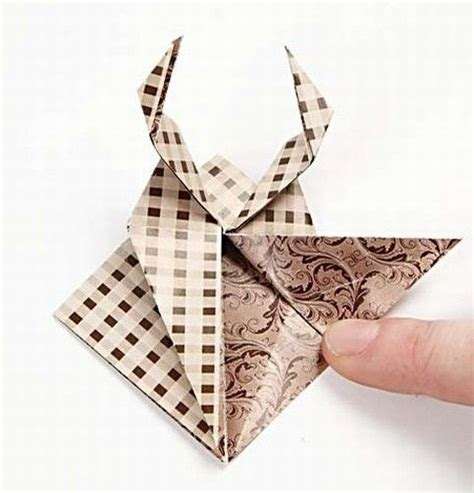 Comment Faire Un Cerf En Origami by Un Cerf Origami Diy