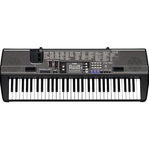 casio ctk 720 61 key portable keyboard musician s friend