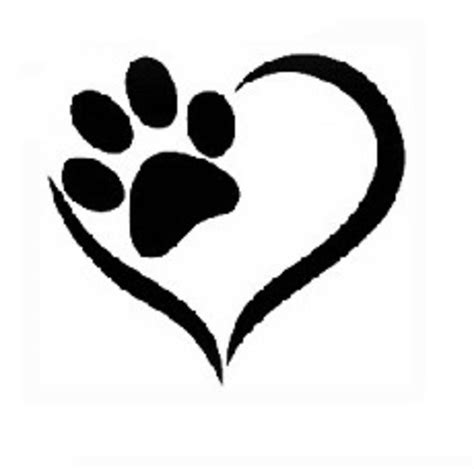 Large Paw Print Clip by Collection Of 25 Big Black Outline Paw Print